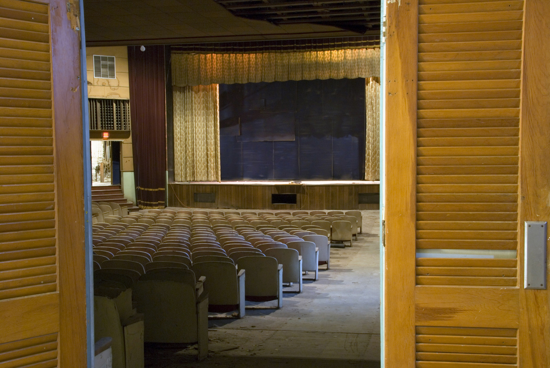 Auditorium and Stage