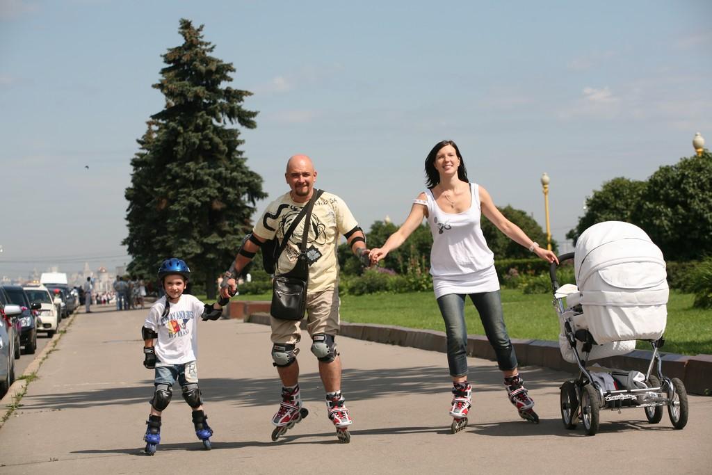 Сергей Трофимов с семьёй