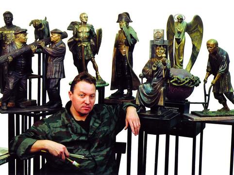 скульптор Рожников