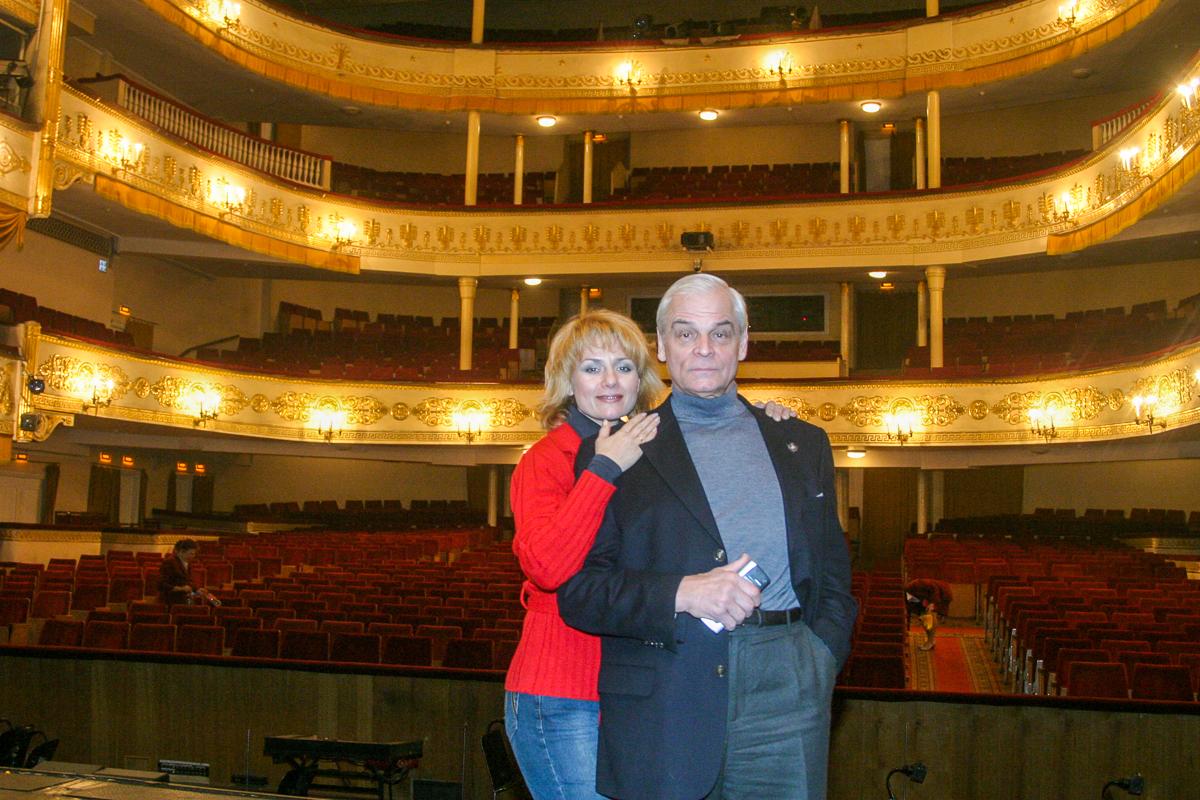 Герард Васильев и Жанна Жердер