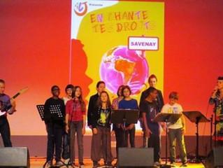 Créer un album CD: Projet jeunesse permettant d'aborder les Droits de l'enfant
