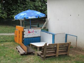 La terrasse : un espace bricolé pour la jeunesse par la jeunesse !