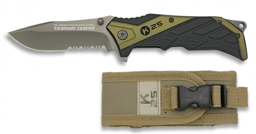 Green Tactical pocket knife