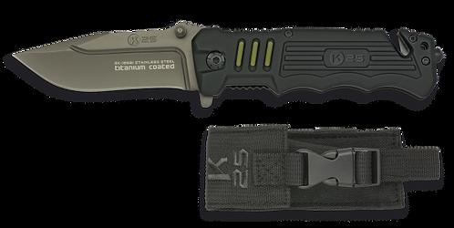Tactical Pocket knife. Black