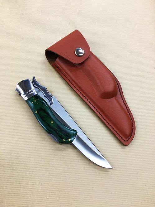 Laguiole Folding Blade Green