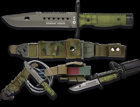 Bayonet Knife Green