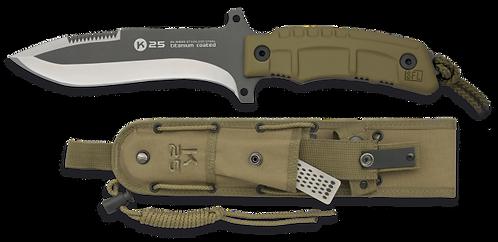 K25 Titanium Coated Knife 27.4cm