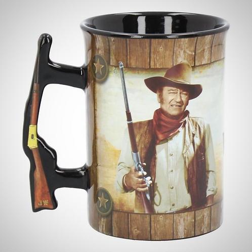 John Wayne Mug - A Mans Gotta Do 16oz