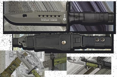 Bayonet Knife Black