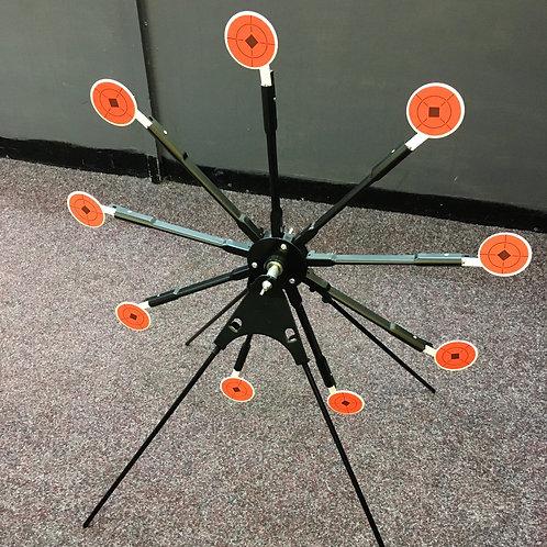 9 Knockdown Spinning Target