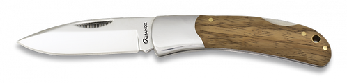 Pocket knife light wood 7.8 cm