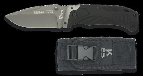 Black Tactical pocket knife