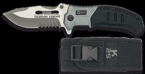 Tactical pocket knife.