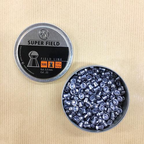 RWS Super Field 500 Pellets .22 15.9g