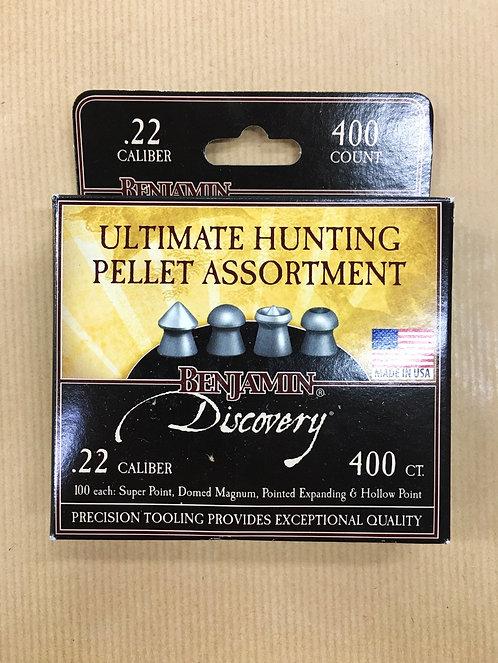 Benjamin Ultimate Hunting Pellet Assortment .22