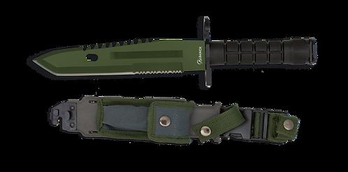 Survival knife Green