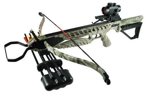 Camo Full Size Crossbow 175lbs