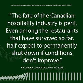 Small Business - The Fate of the Hospitality Industry