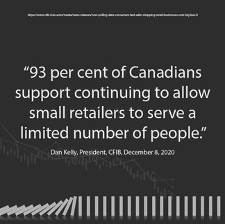 Small Business - Canadians Support Small Businesses
