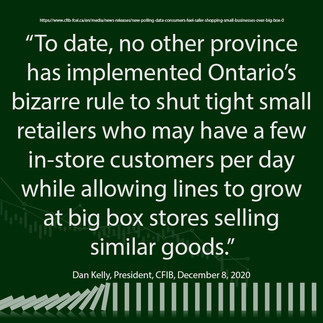 Small Business - Shut Tight While Big Box Stores are Flooded