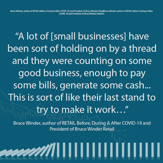 Small Business - Holding on by a Thread