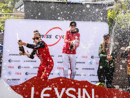 3rd Place at Downhill Swiss Champs, Leysin