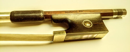 KRUTZ Nickel Pernambuco Violin Bow (Dealer Info)