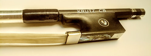 KRUTZ Carbon Fiber Violin Bow (Dealer Info)
