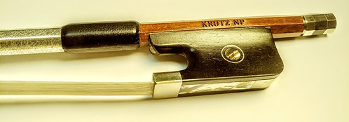 KRUTZ Nickel Pernambuco Cello Bow (Dealer Info)