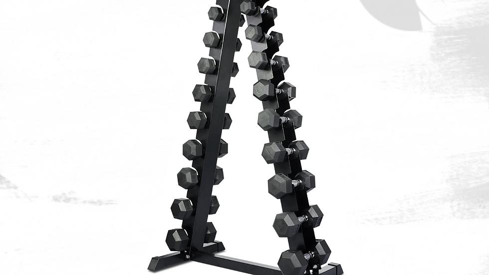 Hex Dumbbells, 1-10kg set