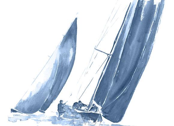 Seilbåt - Regatta 4