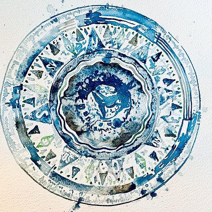 Bestill akvarell med eget motiv (opp til 45 x 61 cm)