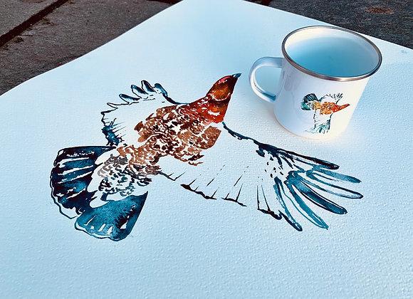 Bestill akvarell og emaljekopp med eget motiv