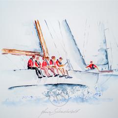 12-meter, styrbord