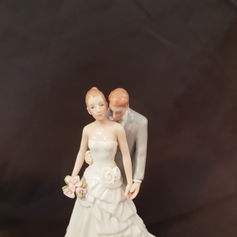 'Ruffle' Cake toppers $10