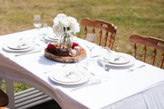 'Cotton' table cloths (rectangle) $15