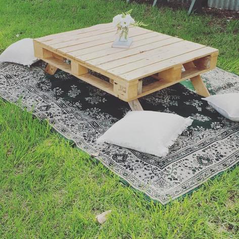 'Floral Green' rug $30
