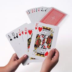 Giant playing cards $10