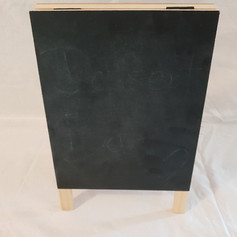 'Double Sandy' blackboard $2
