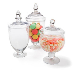 'Lolly' jar trio $25