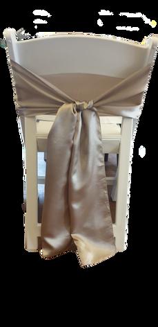 Silver sash $0.50
