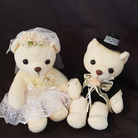 'Teddie' Bride & Groom $5