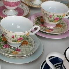 'Trio' tea cup $3