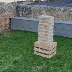 'Jenga' & 'Crate' package $30
