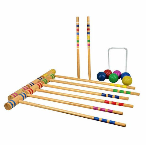 Croquet set $25