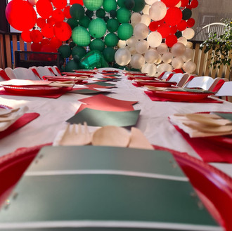 Bunnings Balloon Wall_White Orchid Events