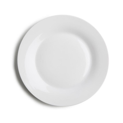 Side plate - white $0.50
