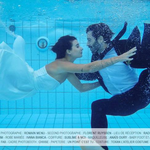 Photographier Jade Leboeuf et Stéphane Rodrigues (sous l'eau)
