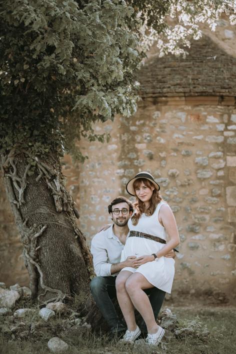Séance grossesse Provence