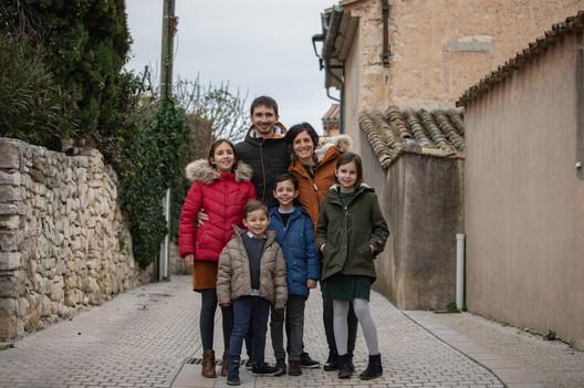 Séance famille hiver